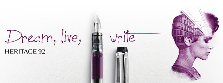 Pilot - Fine writing - Heritage 92 Purple