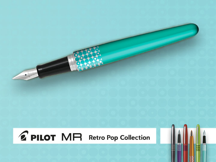 Hediyedir Pilot MR Retro Pop Collection
