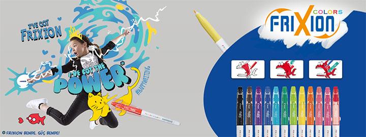 Keçeli Kalem Pilot FriXion Colors