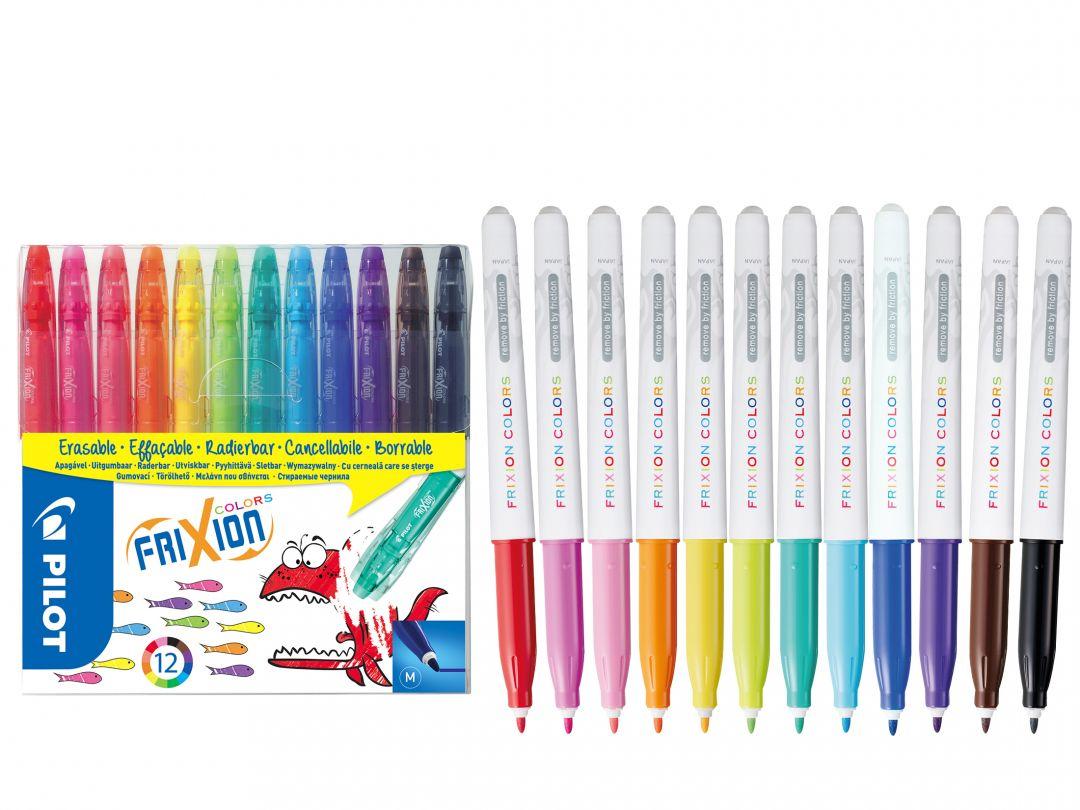 Frixion Frixion colors - 12'li Set - Farklı Renkler - Orta Uç