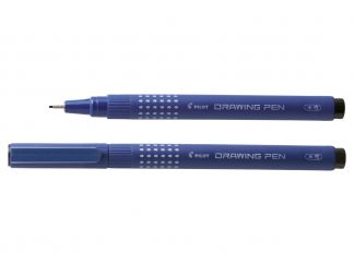 Drawing Pen Drawing Pen 0.5 - İnce Keçe Uçlu Kalem - Siyah - Kalın Uç