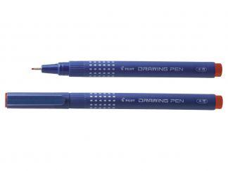 Drawing Pen Drawing Pen 0.8 - İnce Keçe Uçlu Kalem - Kırmızı - Ekstra Kalın Uç