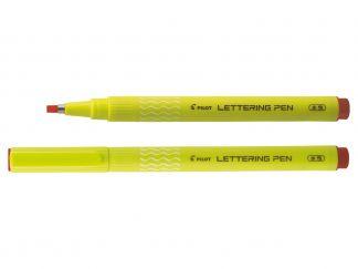 Lettering Pen Lettering Art 30 - İnce Keçe Uçlu Kalem - Kırmızı - Kalın Uç