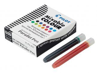 Parallel Pen - 12'li Kartuş - Farklı Renkler - Sıvı Mürekkepli