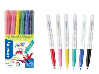 Frixion Frixion colors - 6'lı Set - Farklı Renkler - Orta Uç